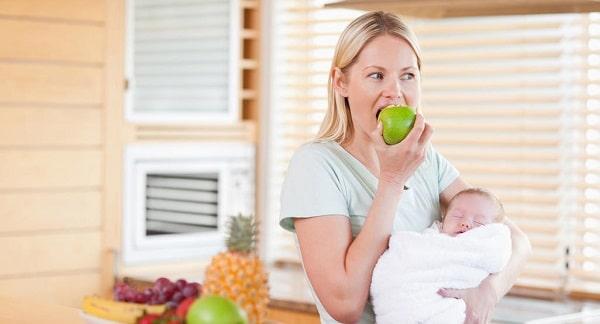 Emziren Anne ve Bebek için Faydalı Yiyecekler